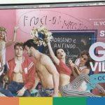 Roma: scritte omofobe sui manifesti del Gay Village