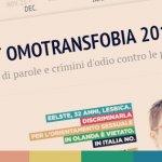 Un anno di omofobia in 104 notizie interattive