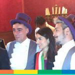 Luca e Francisco: la prima unione civile di Roma, celebra Virginia Raggi