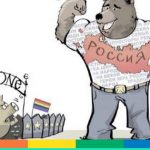 "L'ambasciata russa a Londra dipinge gli europei come ""maiali gay"""