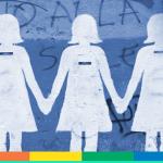"""""""Non una di meno"""" si tinge di arcobaleno: la comunità Lgbt in piazza"""