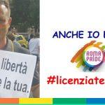 """Non sarà licenziato il vigile del fuoco che era al Roma Pride: """"C'è un vuoto normativo"""""""