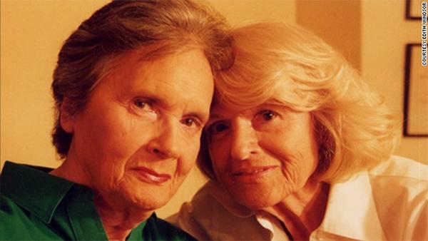 Edith Windsor e la seconda moglie, Judith Kasen-Windsor