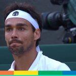Tennis: Fognini espulso dagli US Open per gli insulti sessisti, per lui anche una multa salata