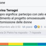 """Stupro e """"progetto omosessuale di sottomissione delle donne"""": Gay Lex e i Sentinelli denunciano Marina Terragni"""