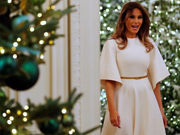 Melania Trump Christmas Decoration Meems