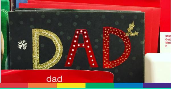 Immagini Natale Usa.I Biglietti Di Natale Per I Miei Due Papa Nel Supermercato Usa
